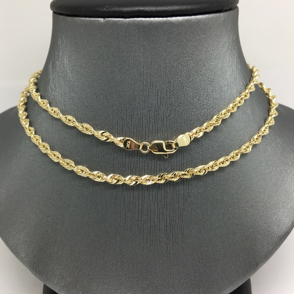 17 Inch 10k Gold Filled Heart Chain Necklace